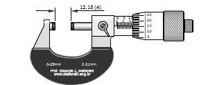 دانلود نرم افزار آموزش میکرومتر ۰٫۲۵ میلی متری با دقت ۰٫۰۱ میلی متر